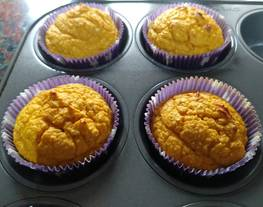 Muffin de garbanzos