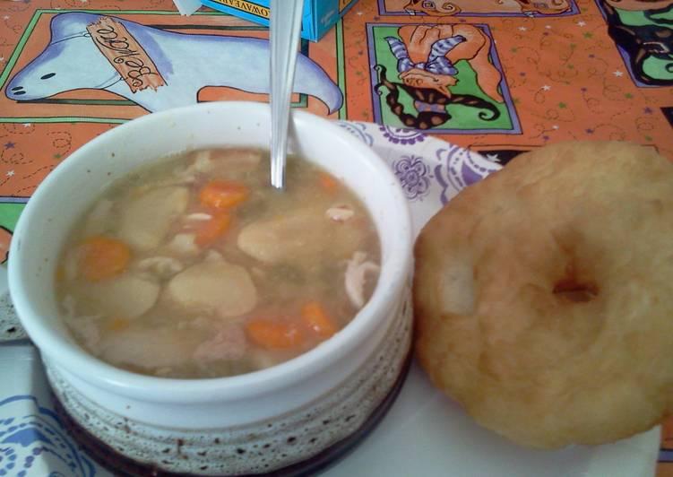 Mamas Lima Beans Soup (slow cooker)