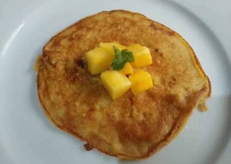 Easiest Way to Make Most Popular Mango Pancakes