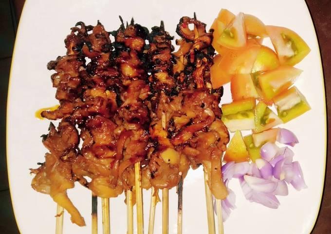 Resep Sate Jamur Tiram Oleh Desy Safitri Cookpad