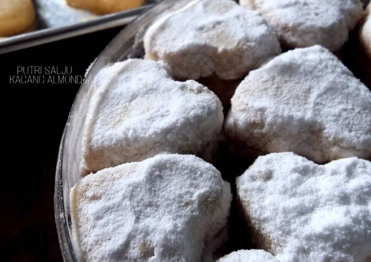 Cara Memasak Kue Putri Salju Kacang Almond No Susu Amp Keju Kekinian