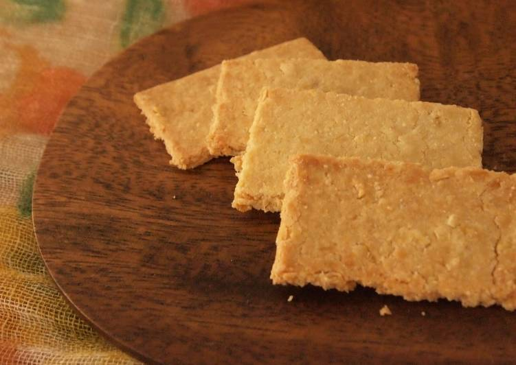 Recipe of Quick Crunchy Healthy Cookie with Okara & Rice Flour