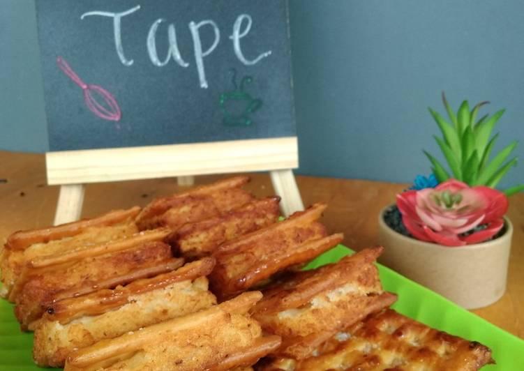 Cara Membuat Gabin Tape rumahan