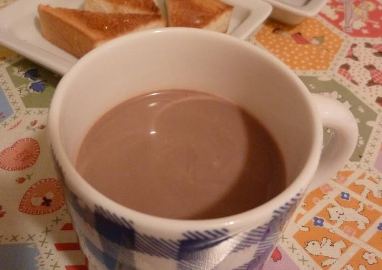 Hot Chocolate Cocoa Drink