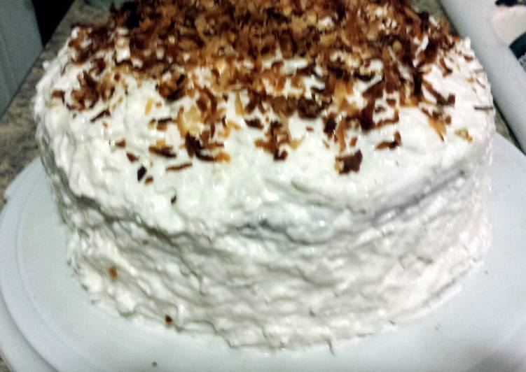 BEST Coconut Cake Ever!