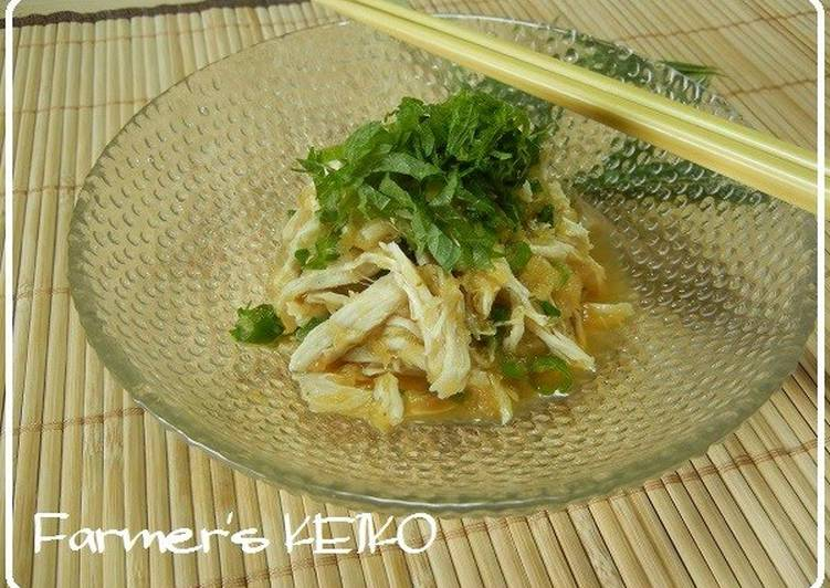 Refreshing Chicken Tenders with Grated Daikon Radish Sauce
