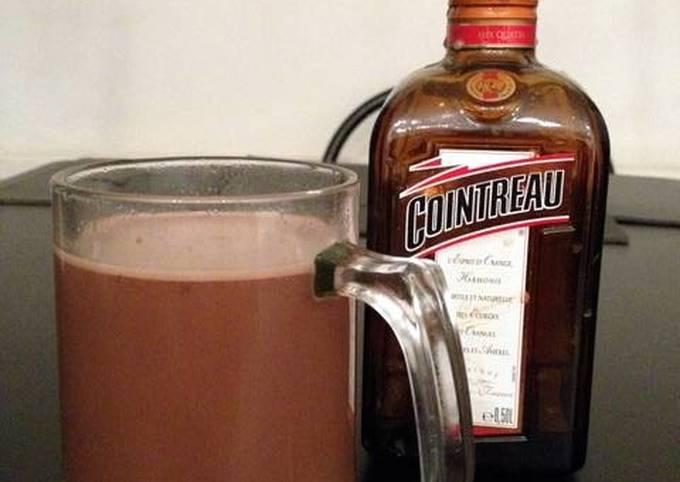 Boozy hot chocolate!
