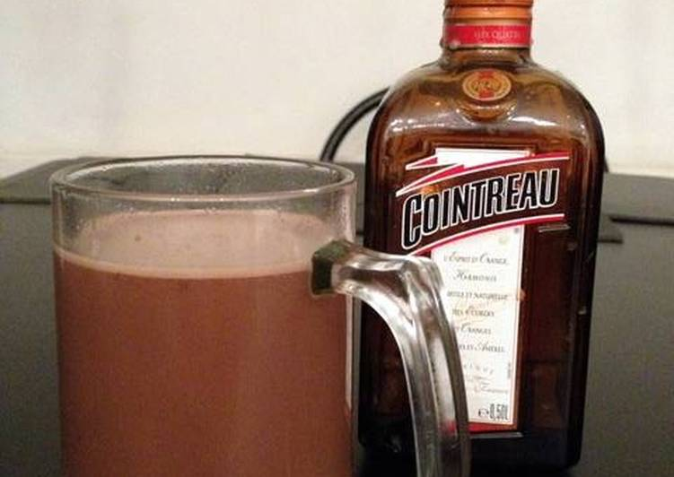 Boozy hot chocolate!