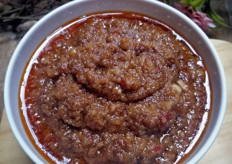 Bumbu Kacang untuk siomay, batagor & cilok