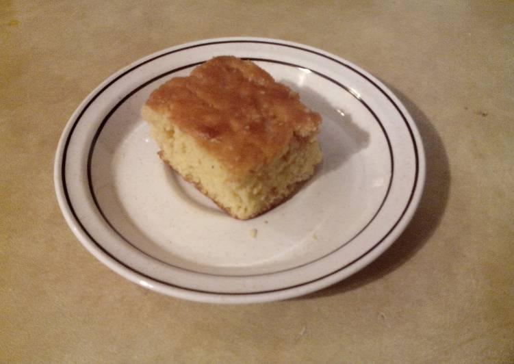 Recipe: Perfect Super Easy Honey Butter Cornbread