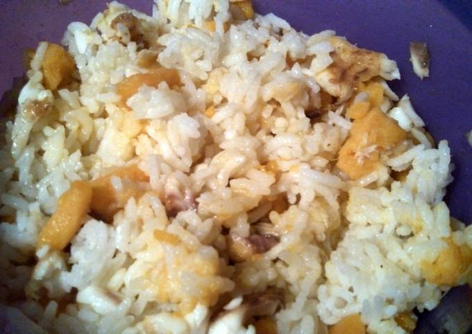 Quick rice dinner