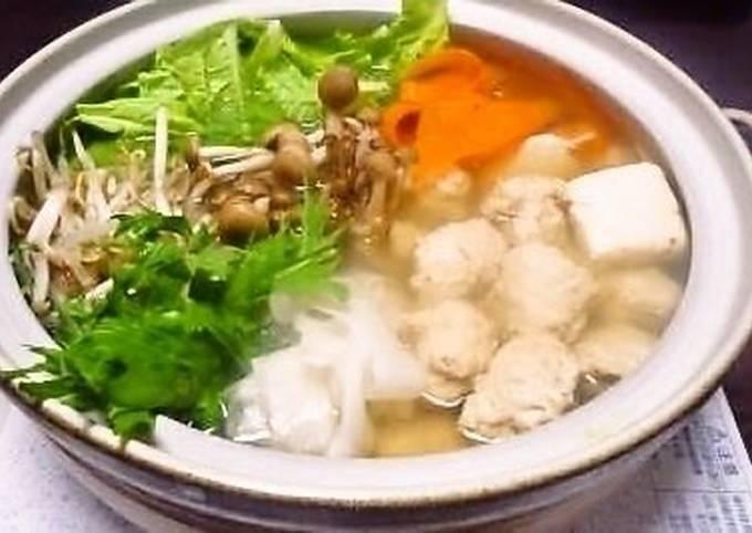 Chankoya Restaurant's Salt-based Chanko Hot Pot