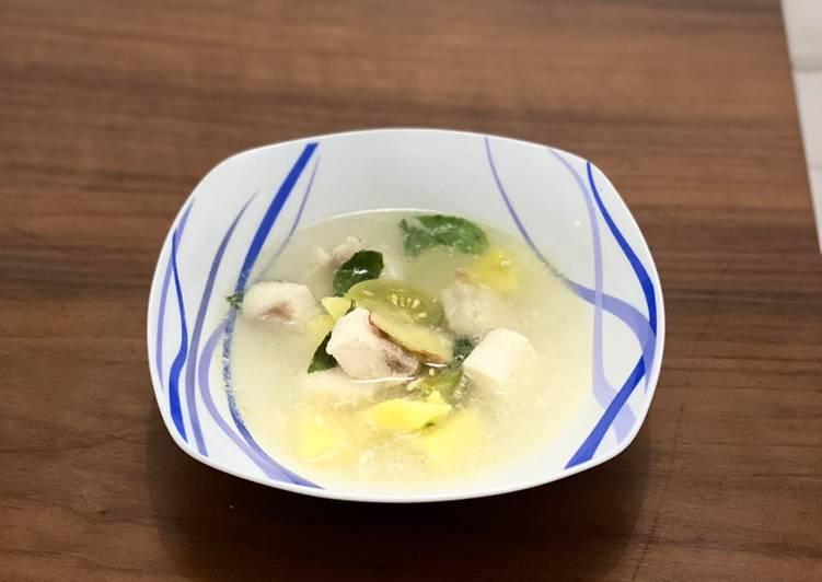 Sop Ikan Dori