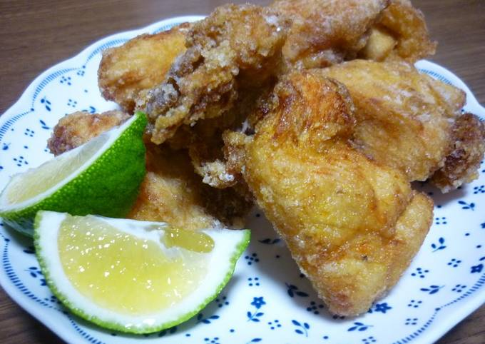 Easiest Way to Prepare Perfect Secret Chicken Karaage Recipe (Juicy Even Using Breast Meat)