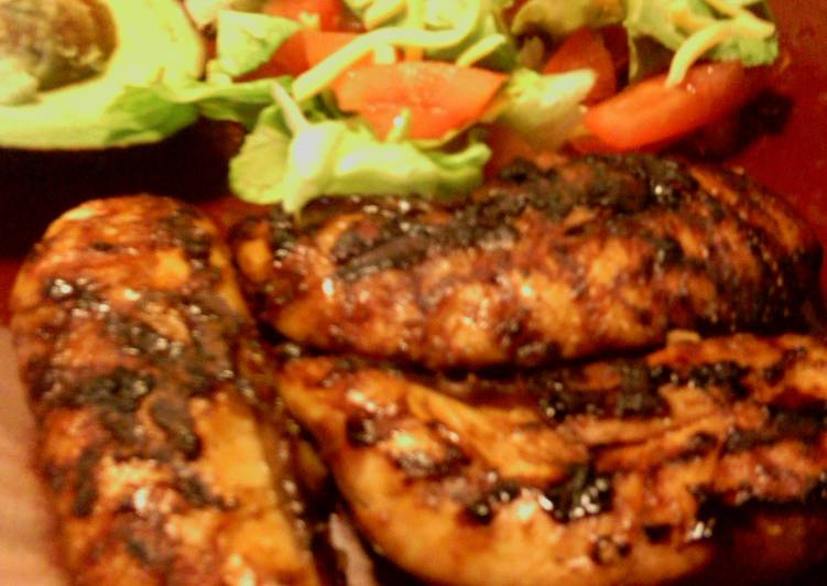 Recipe of Quick sunhines tender grilled chicken strips