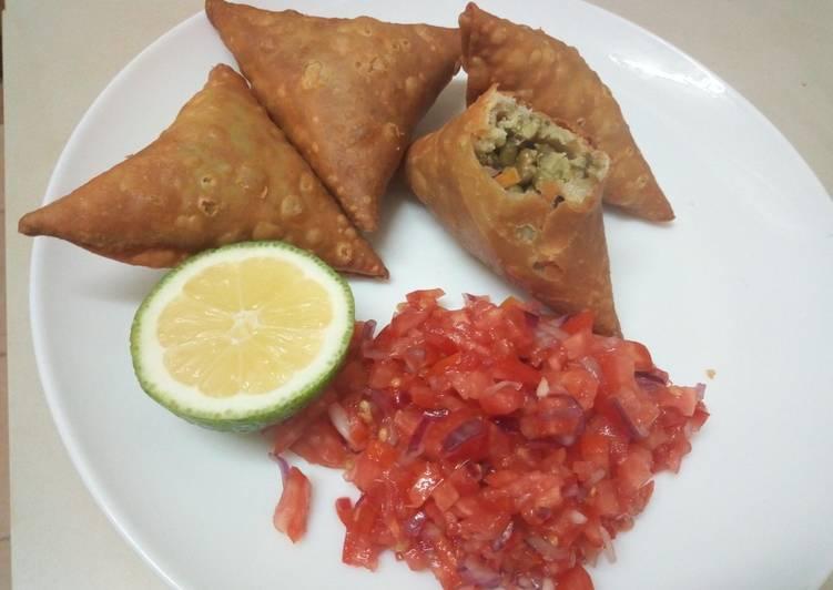 10 Minute Simple Way to Make Diet Perfect Dengu samosa(manda recipe)