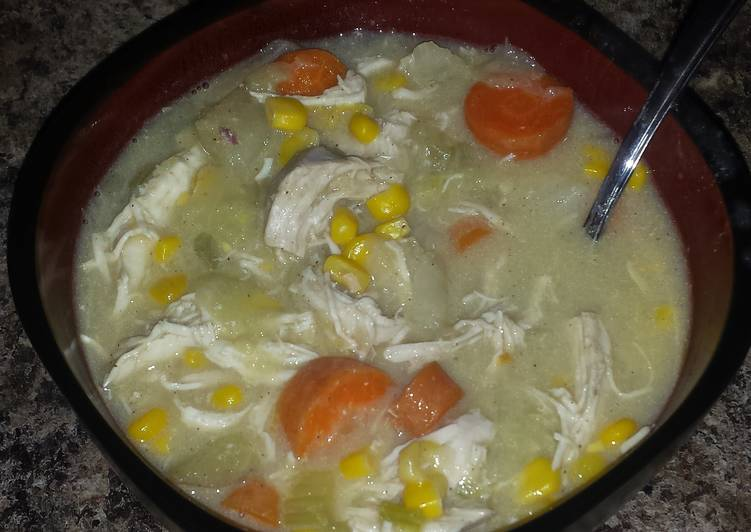 Creamy Chicken and Vegetable Soup, Choosing Fast Food That's Very good For You