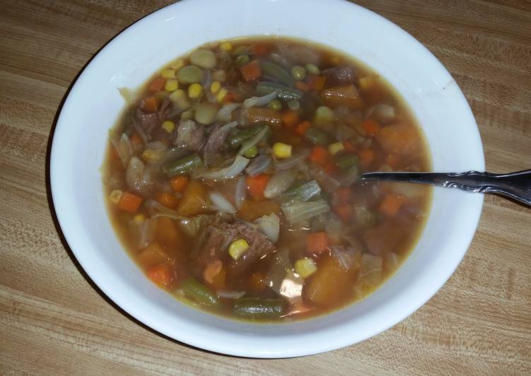 Vegetable Beef Soup, Finding Healthy Fast Food