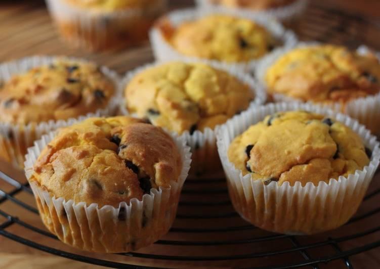 Kabocha Muffins Chock Full of Kabocha