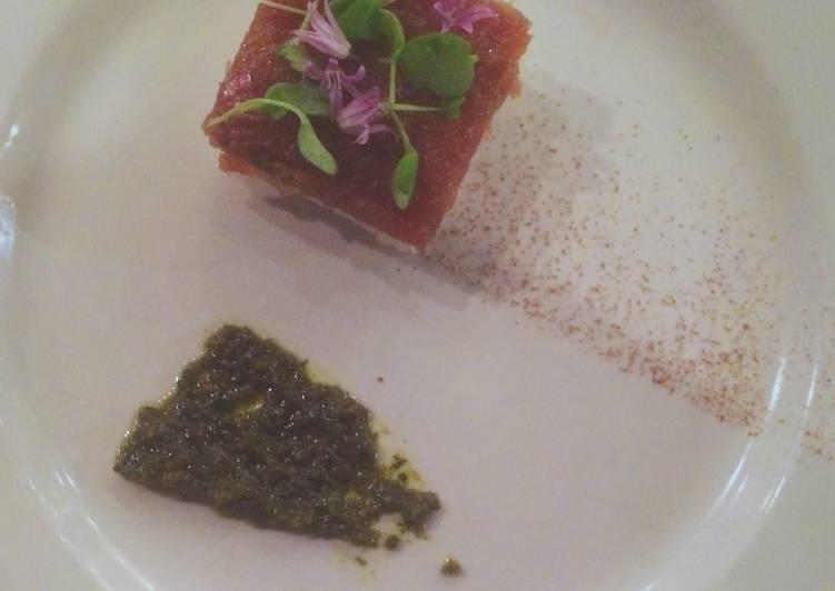 Tartare of Tuna
