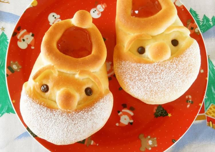 Christmas Santa Claus Bread