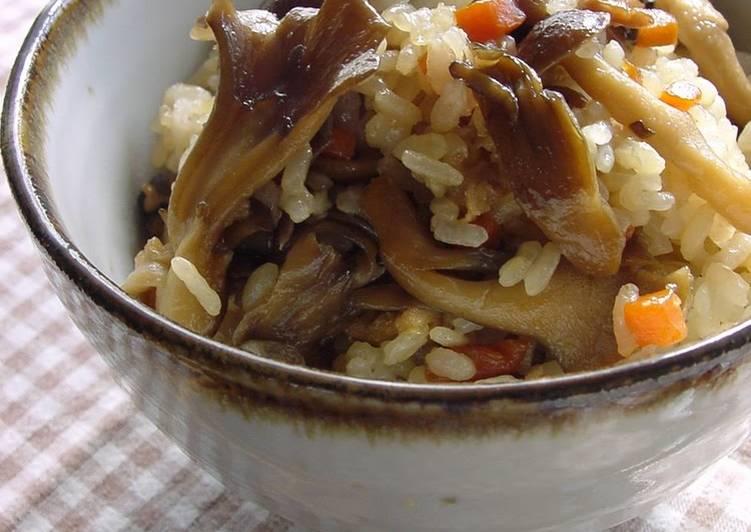 15 Minute Simple Way to Prepare Award Winning Sweet & Savory Mushroom Rice