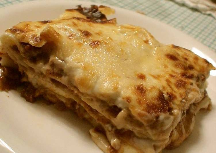 Recipe: Delicious Lasagna for Christmas Dinner