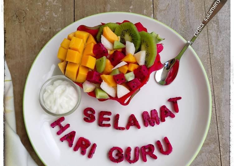 Salad Buah Ceria - cookandrecipe.com