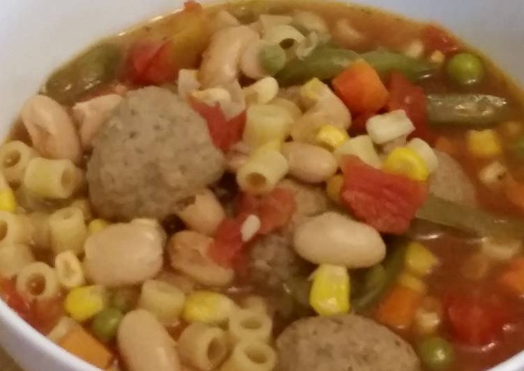 Meatball Minestrone, Some Foods That Are Good For Your Heart