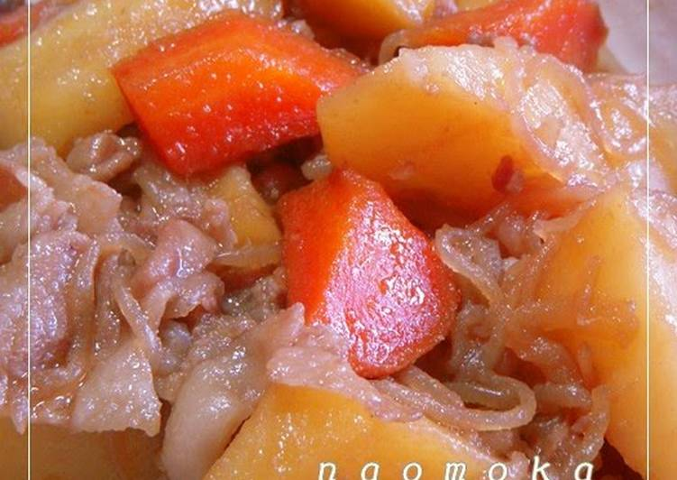 Step-by-Step Guide to Make Most Popular Using Our Family's Golden Ratio Nikujaga: Our Staple Stew