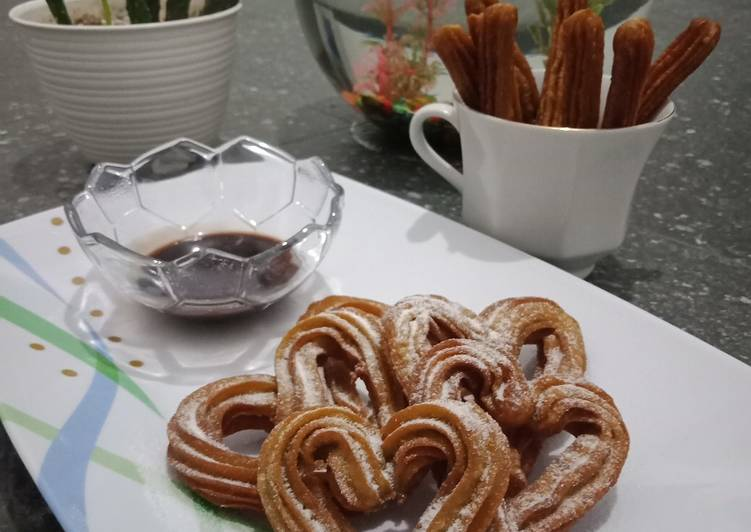 Churros coffee