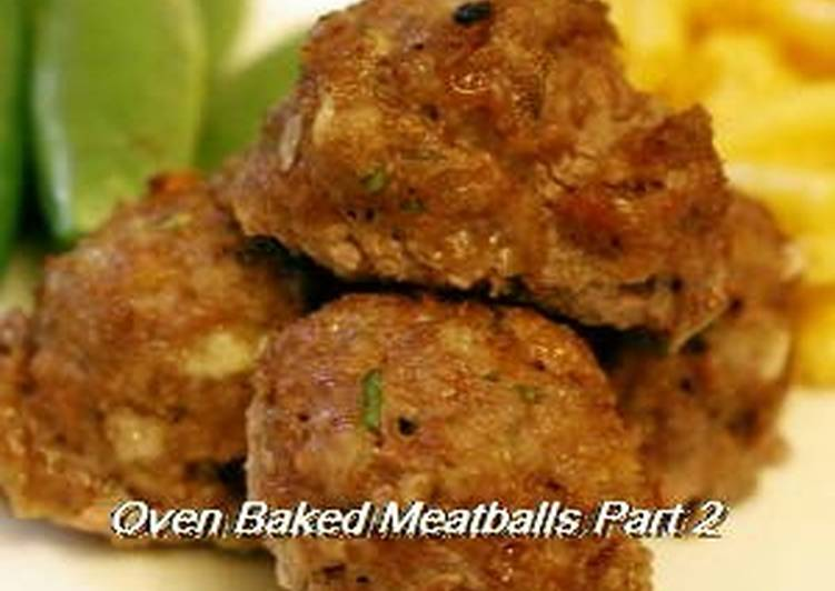 Recipe of Favorite My Family's Go-To Meatball Recipe
