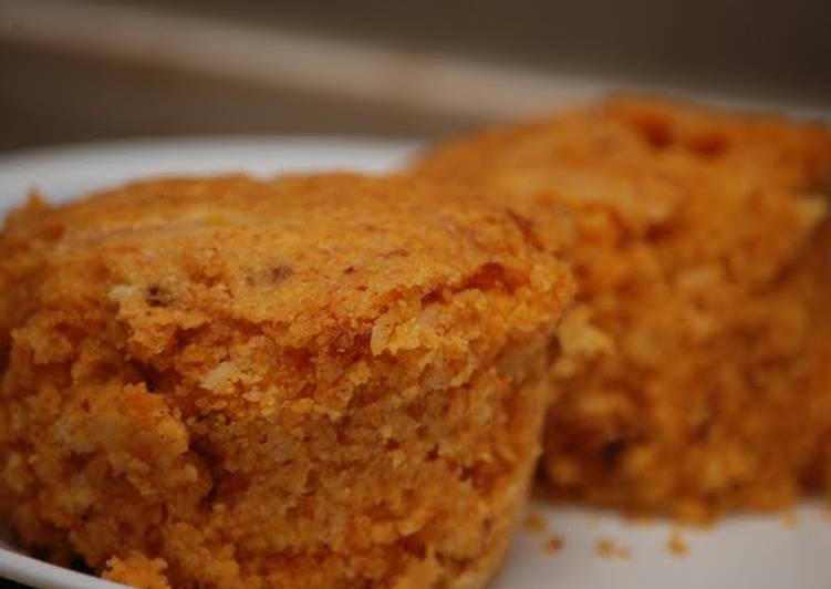 Cheesy Chorizo Corn Muffins