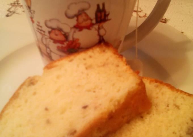 Sunshine's lemon cream tea loaf