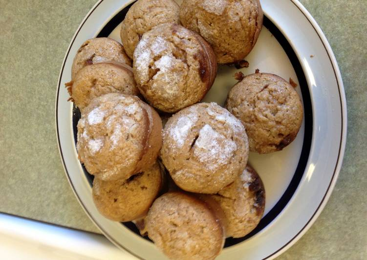 Steps to Make Any-night-of-the-week Brown Sugar Muffins W/ White Sugar Dust