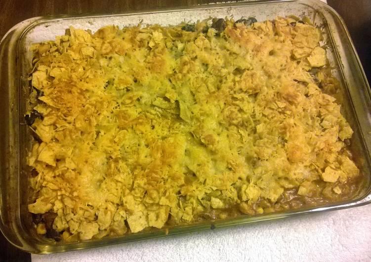 Easiest Way to Make Speedy Mexican Chicken Casserole