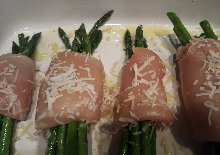 How to Prepare Appetizing Chicken wrapped asparagus