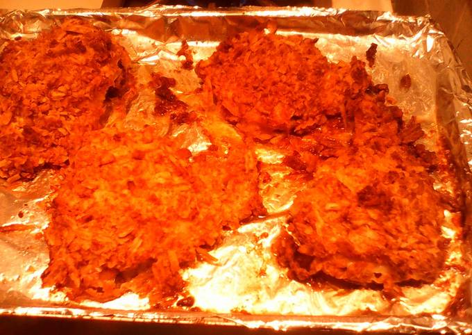 Recipe Of Homemade Baked Fried Chicken Chicken Recipes Ce