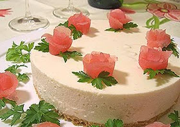 No-Bake Apple Cheesecake