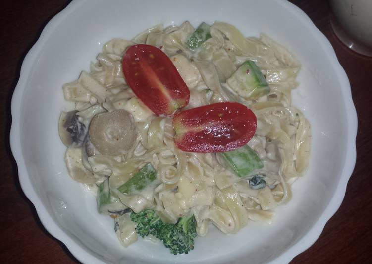 Recipe of Quick Saint Peter's pasta