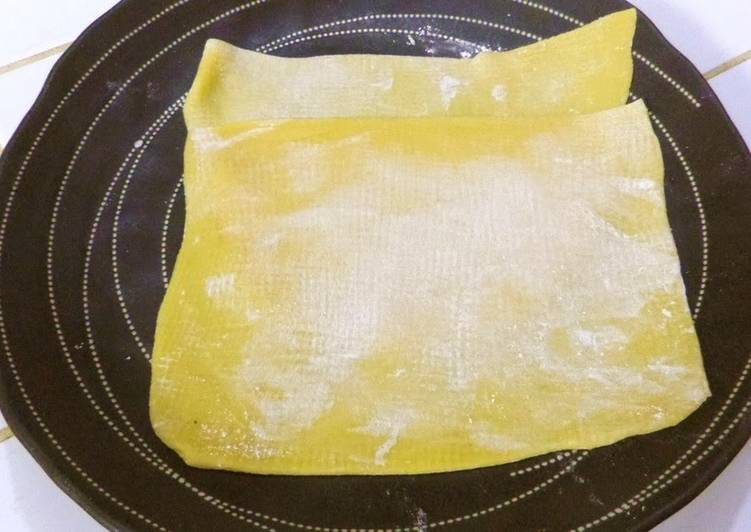 Recipe: Delicious Lasagna Noodles in a Bread Machine