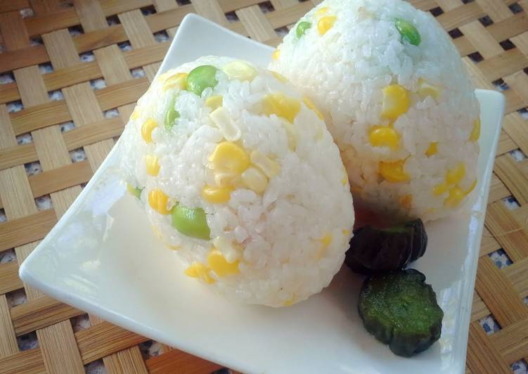 Rice with Corn&Edamame