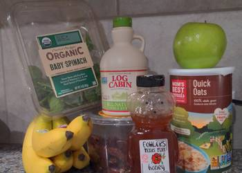 Easiest Way to Cook Appetizing Oatmeal Power Smoothie