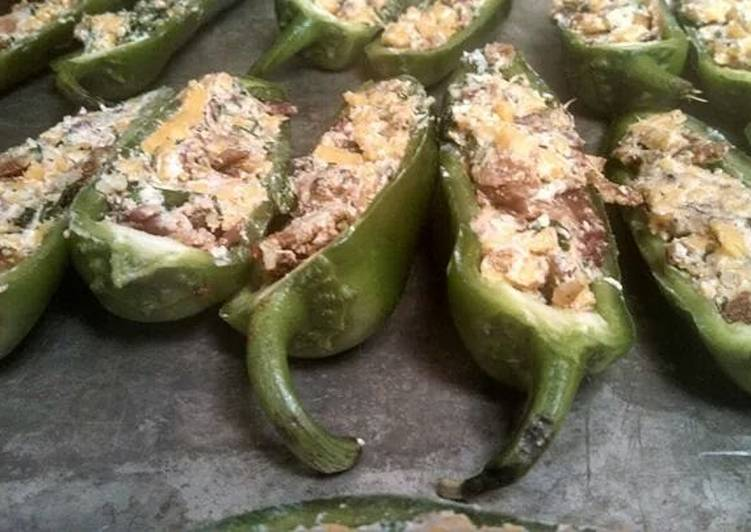 Recipes for Stuffed jalapeños