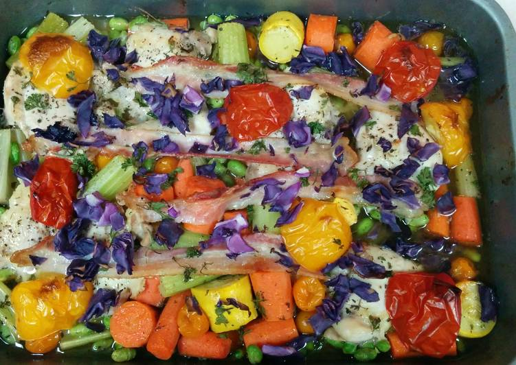 Step-by-Step Guide to Make Speedy Colorful Chicken Roast