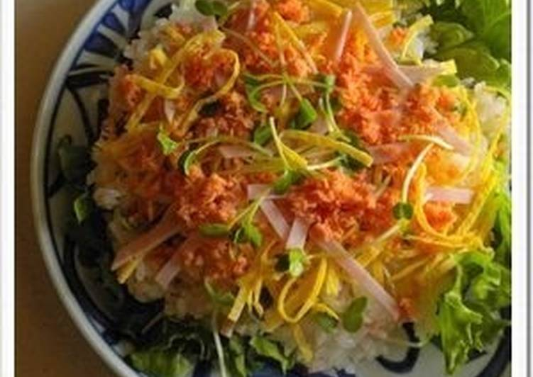 Your Health Can Be Effected By The Foods You Choose To Eat Easy Lemony Chirashi Sushi with Salmon Flakes