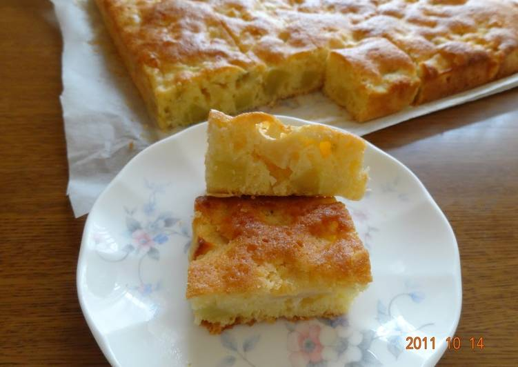 Easiest Way to Make Award-winning Big Mashed Potato and Apple Cake