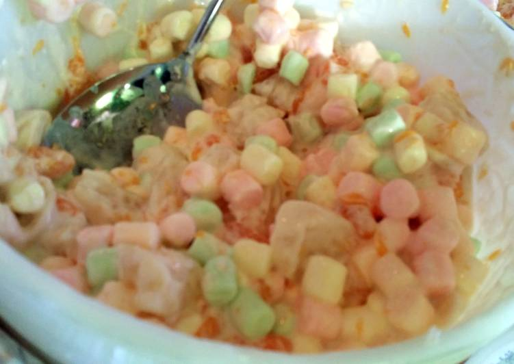 Consume These 14 Superfoods to Go Green for Great Health fruity marshmallow salad