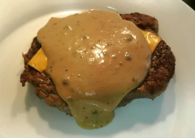 Peppermelt steak