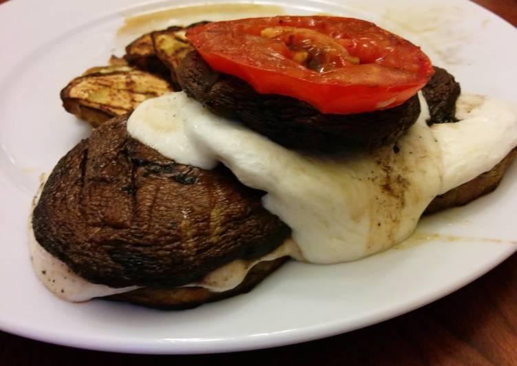 Recipe of Speedy S'mortobello Burger